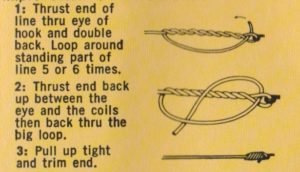 Improved Clinch Knot (Figure 2)